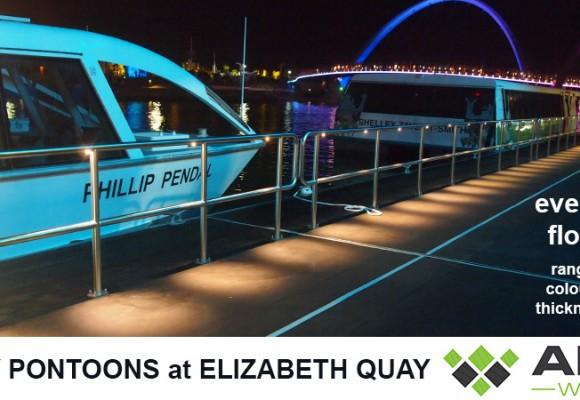 Elizabeth Quay Ferry Pontoons