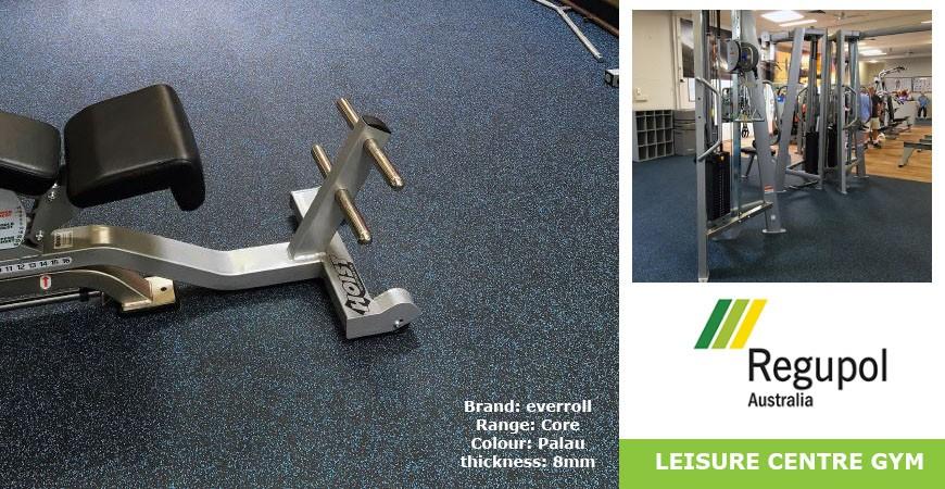 Gym Flooring at Splashdown Leisure Centre