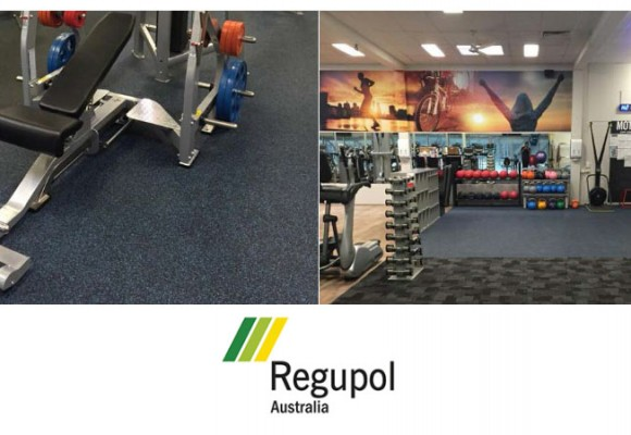 Gym Flooring at Splashdown Leisure Centre